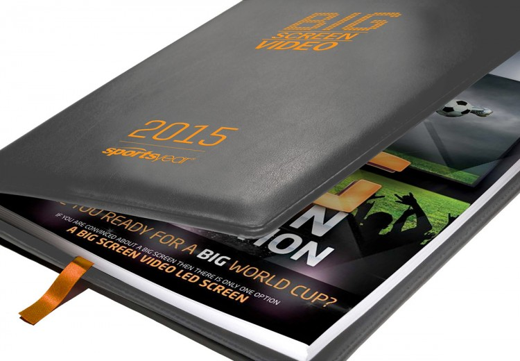 All versions of the Sportsyear Diary can be personalised for corporate clients.